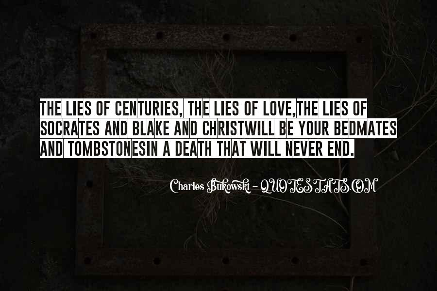 Quotes About Lies And Love #585841