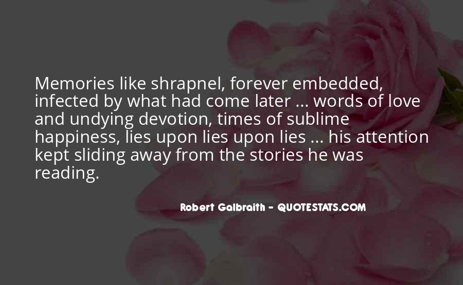 Quotes About Lies And Love #602385