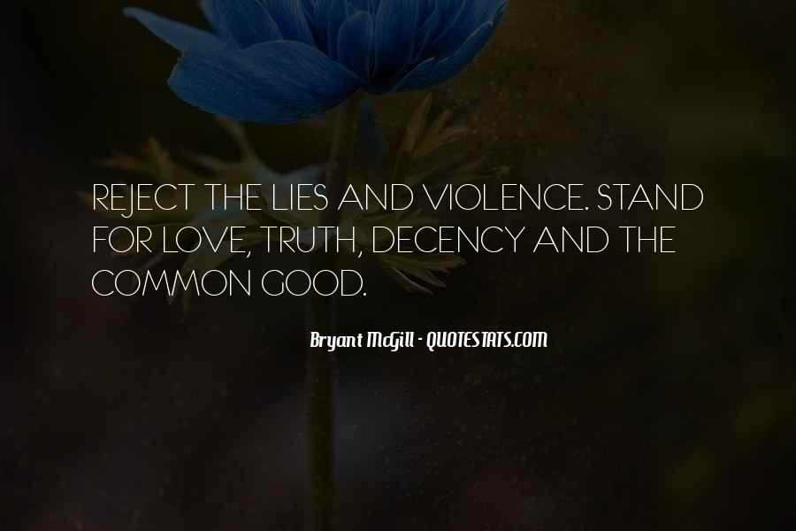 Quotes About Lies And Love #613263