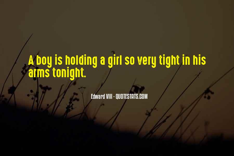 Quotes About Holding A Girl In Your Arms #439036