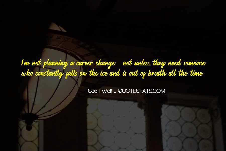 Quotes About Career Planning #1501135