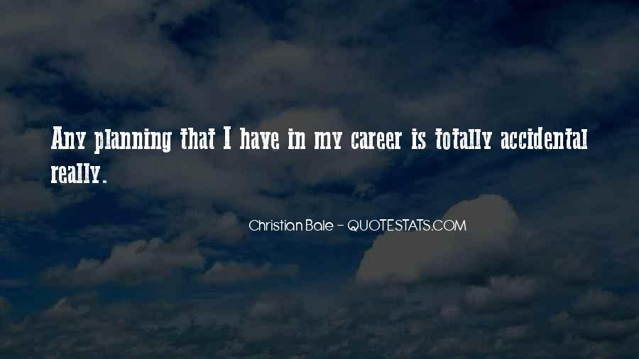 Quotes About Career Planning #1743740
