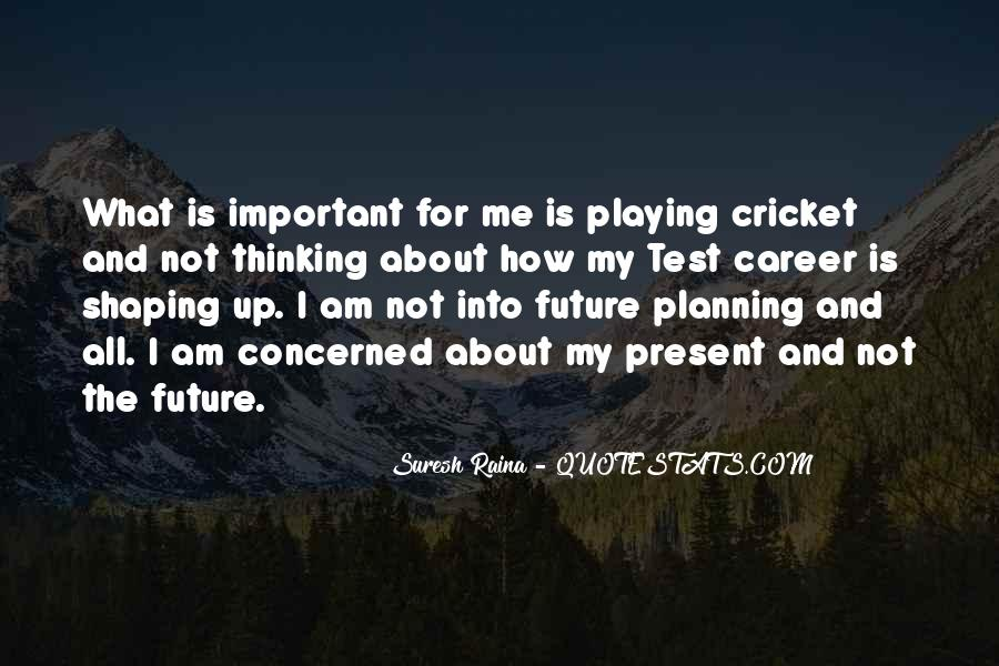 Quotes About Career Planning #619282