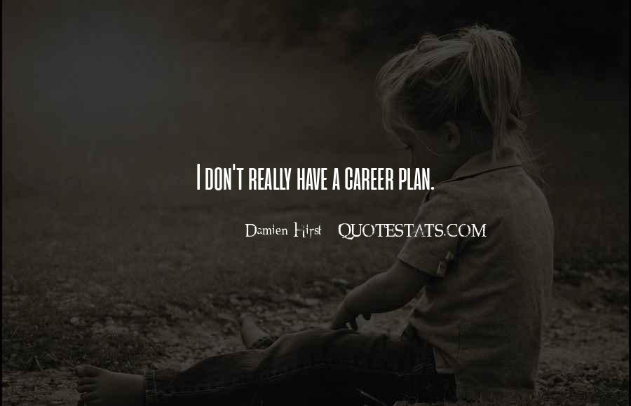 Quotes About Career Planning #899990