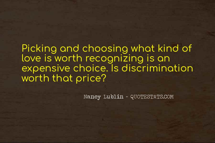 Quotes About Picking And Choosing #735540