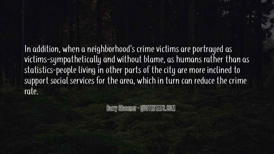 Quotes About Living In The City #1014872