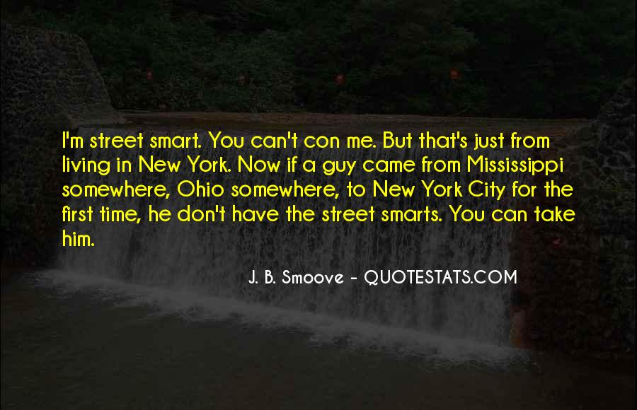 Quotes About Living In The City #1016279