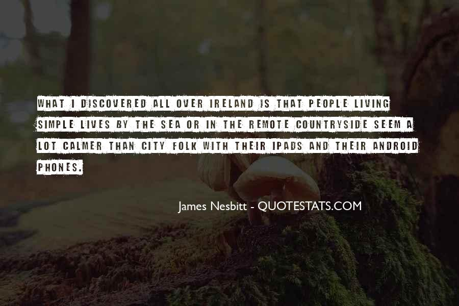 Quotes About Living In The City #104096