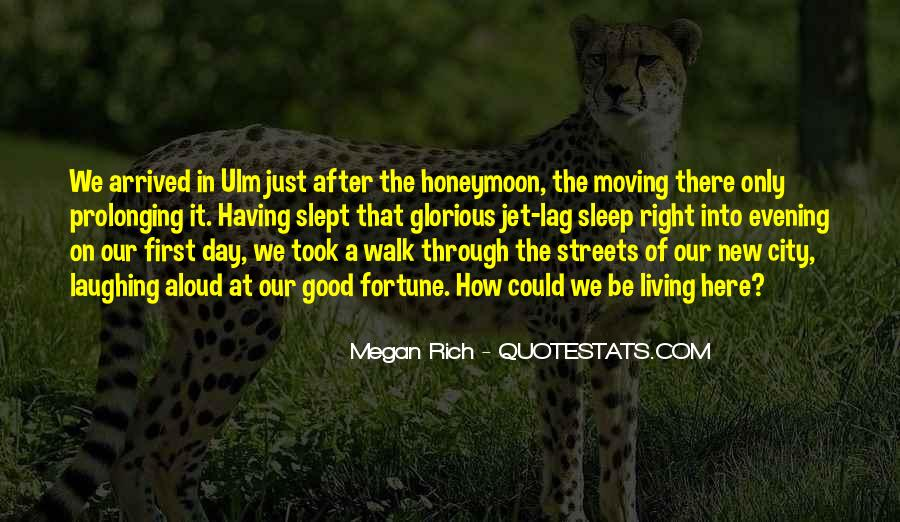 Quotes About Living In The City #1115447