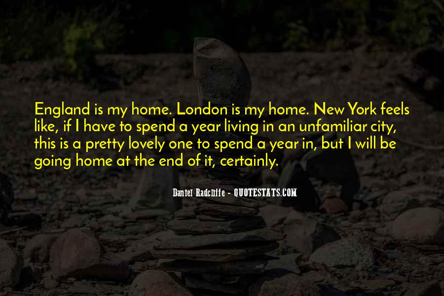 Quotes About Living In The City #1207557
