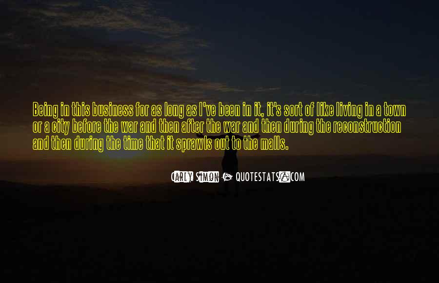 Quotes About Living In The City #1209359