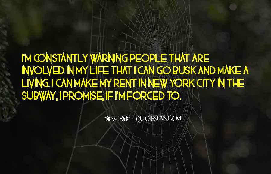 Quotes About Living In The City #249053