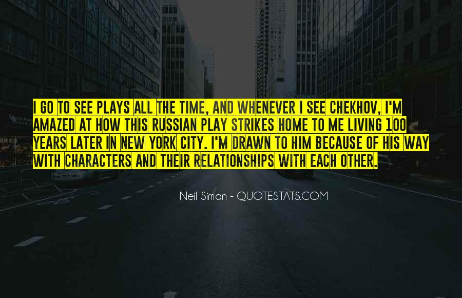 Quotes About Living In The City #339741