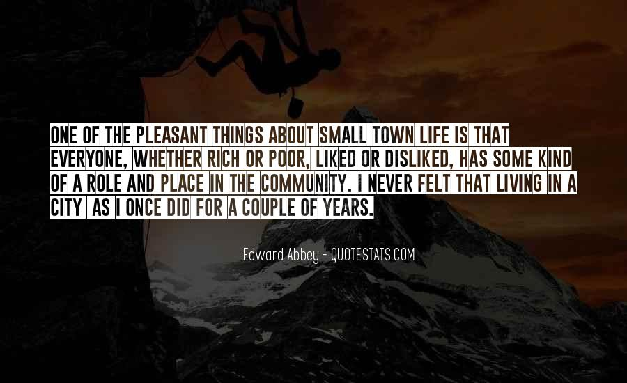 Quotes About Living In The City #369344