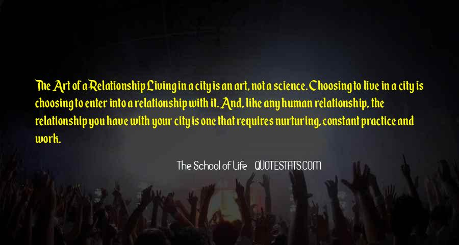 Quotes About Living In The City #438173