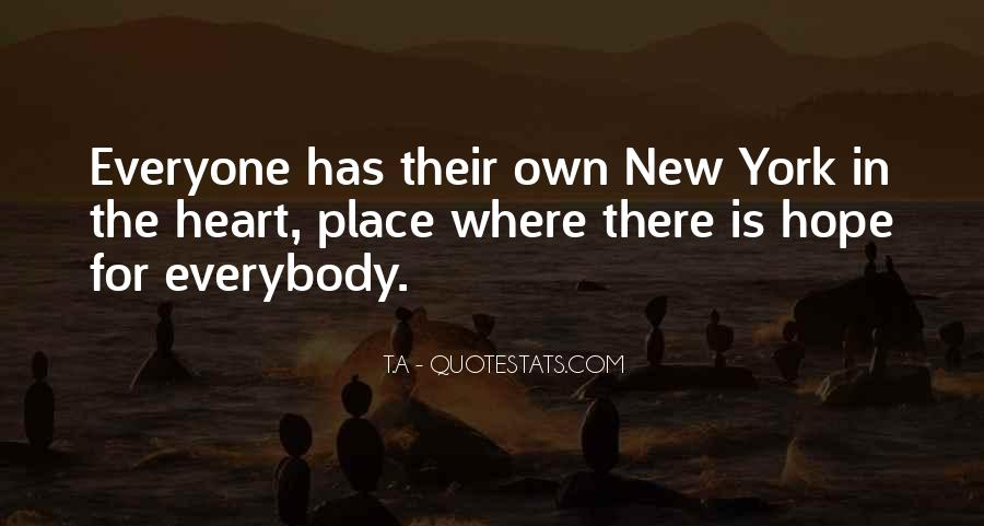 Quotes About Living In The City #50224