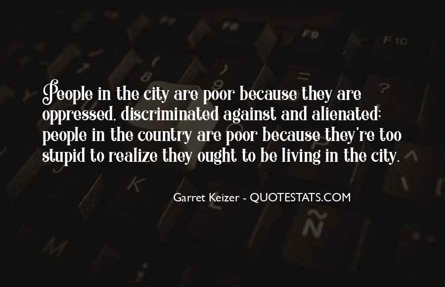 Quotes About Living In The City #590238