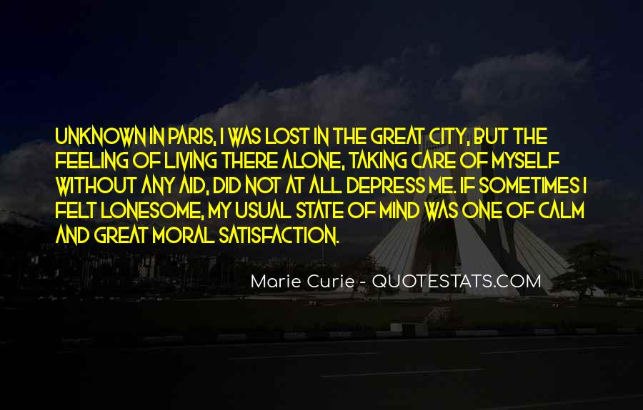 Quotes About Living In The City #730997