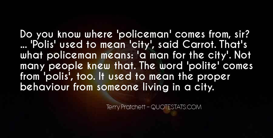 Quotes About Living In The City #800342