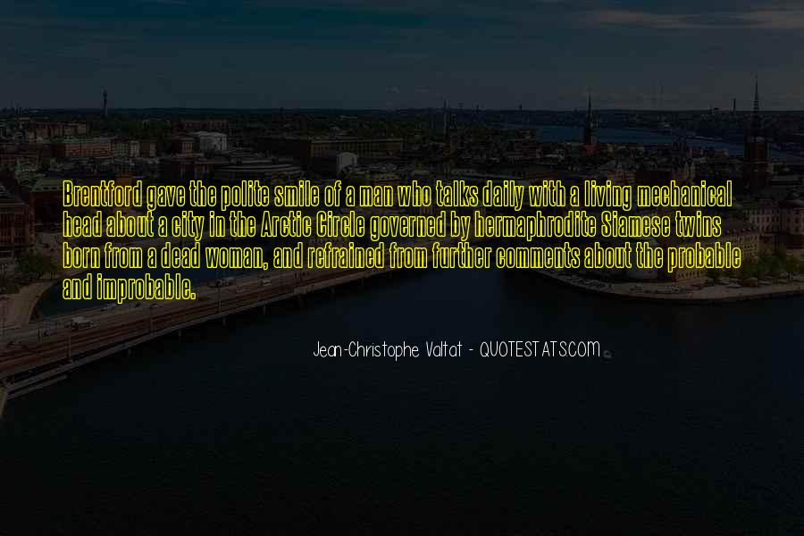 Quotes About Living In The City #891861