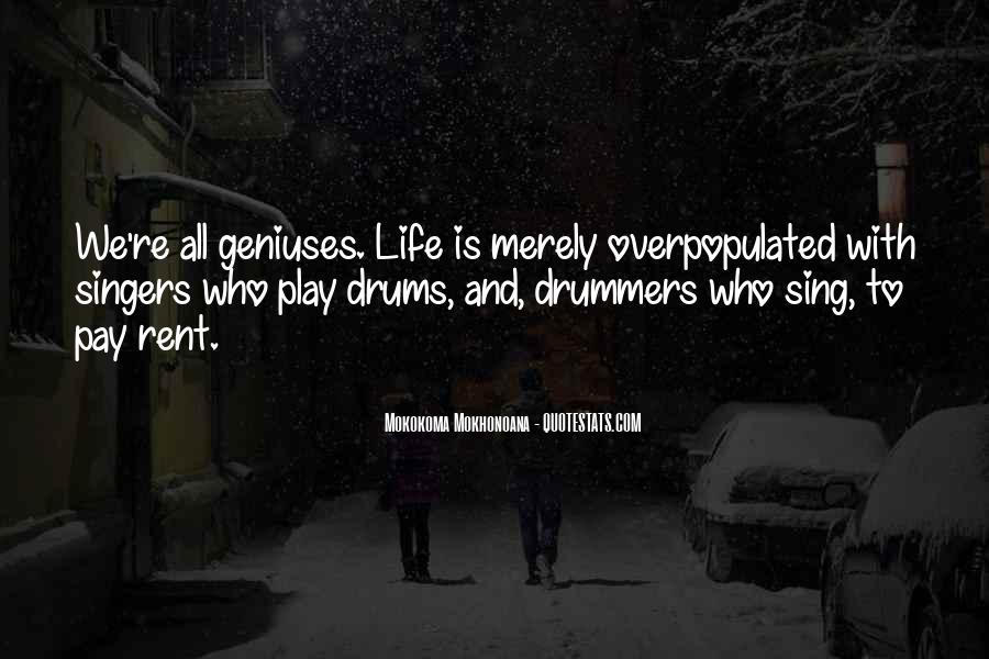 Quotes About Drums And Life #101169