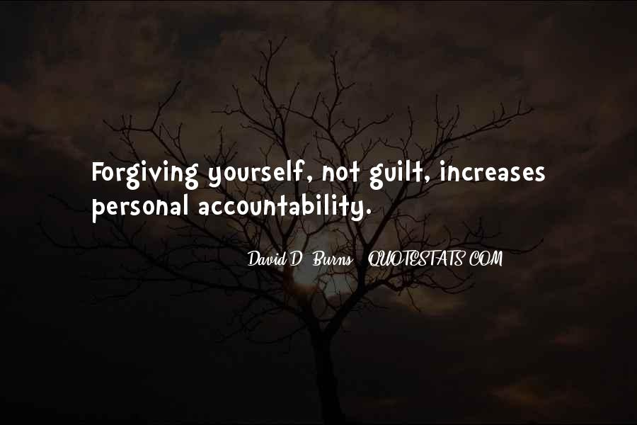 Quotes About Not Forgiving Yourself #31864