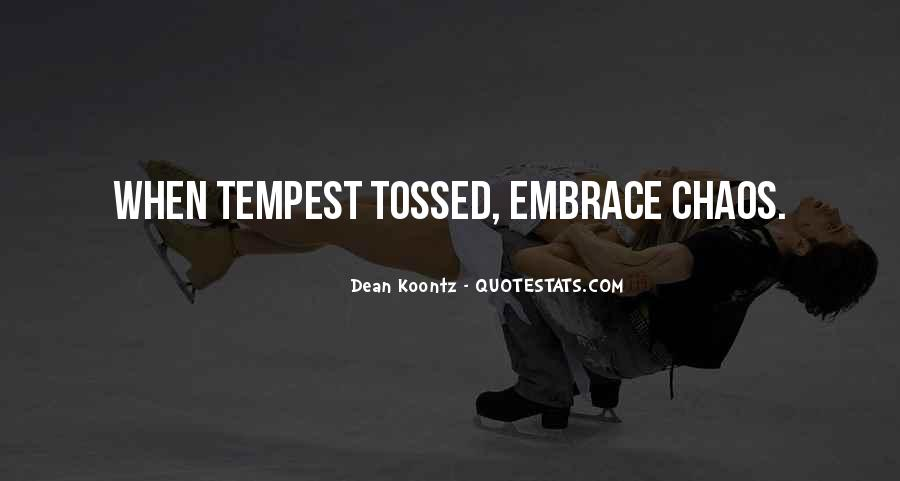 Quotes About Tossed #287600