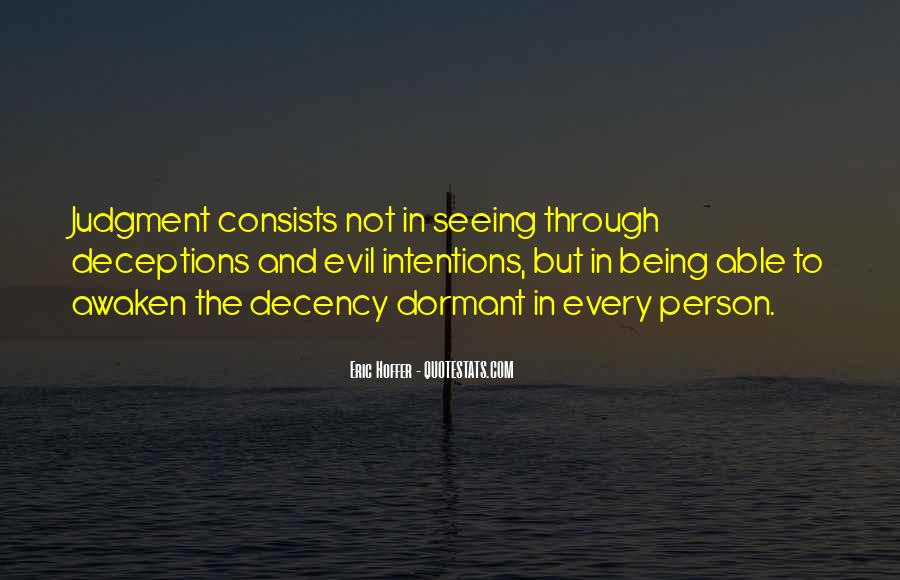 Quotes About Evil And Deception #1284187