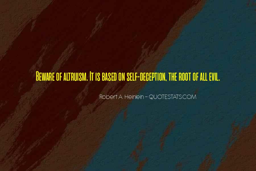 Quotes About Evil And Deception #1785015