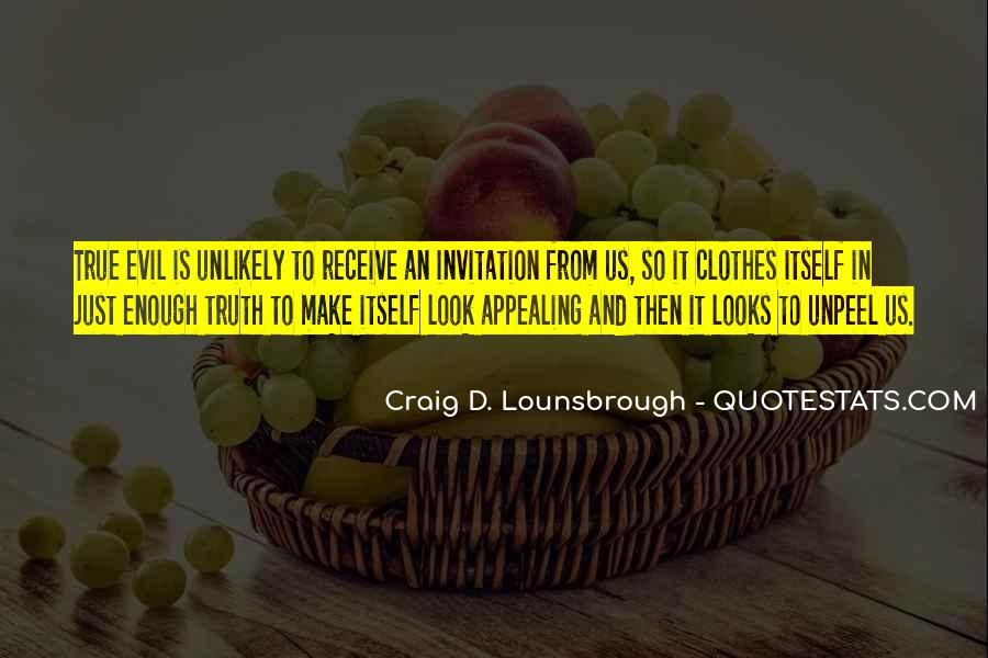 Quotes About Evil And Deception #391863