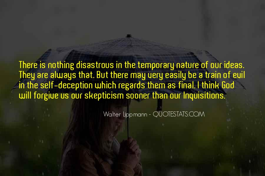 Quotes About Evil And Deception #867517