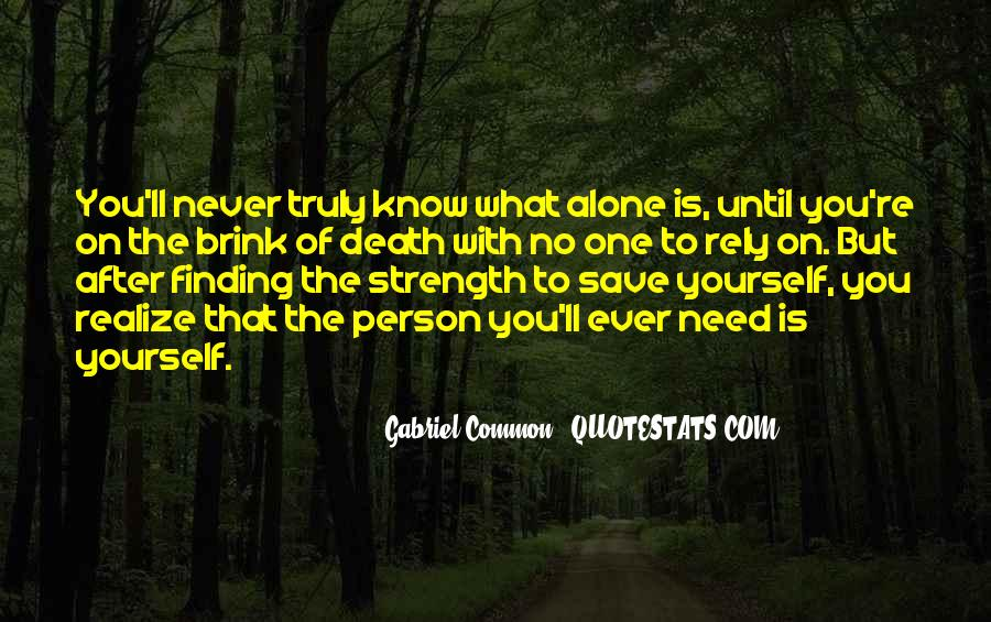 Quotes About Finding Yourself #15452