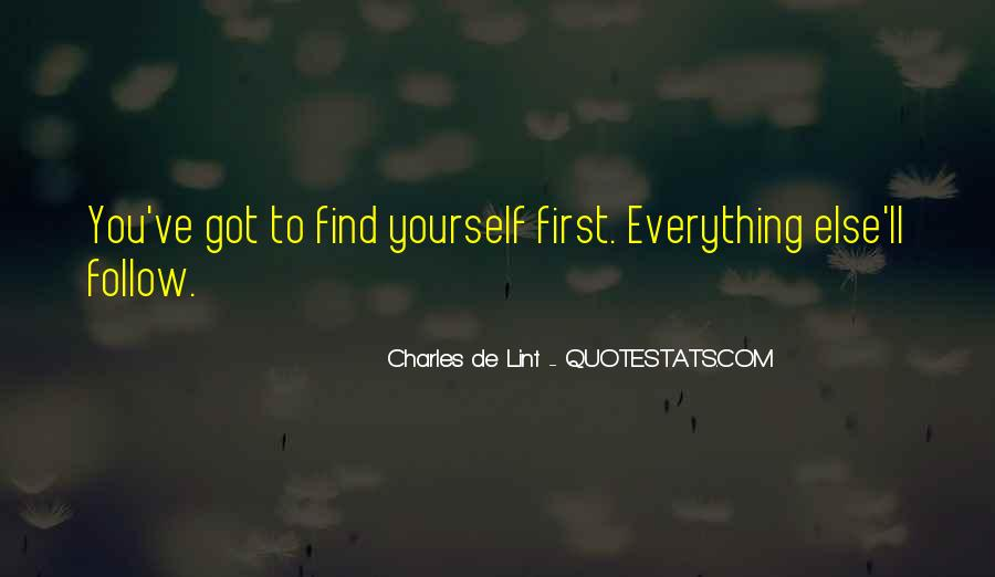 Quotes About Finding Yourself #272906