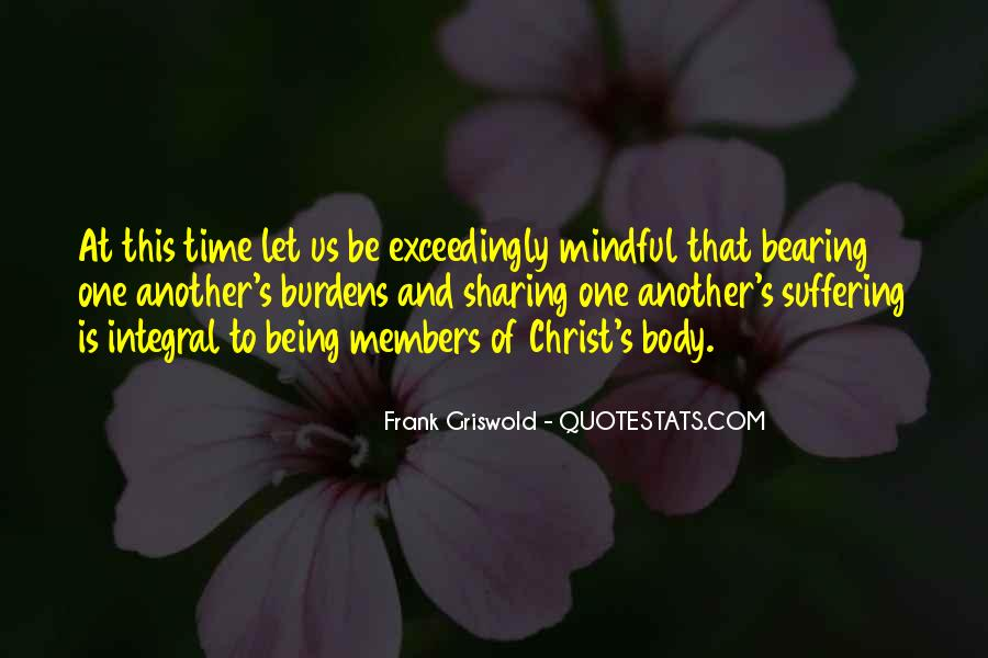 Quotes About Being Mindful #525025