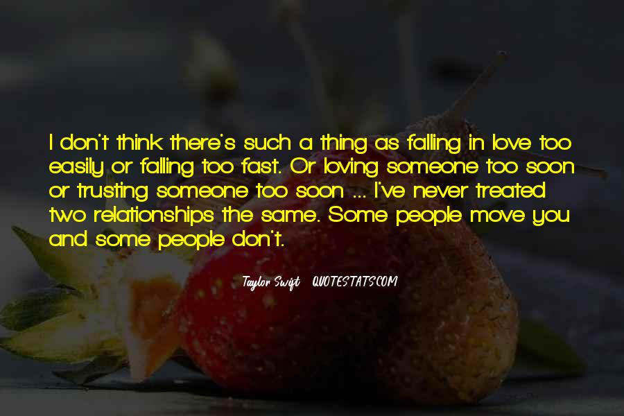 Quotes About Never Falling Out Of Love #187230