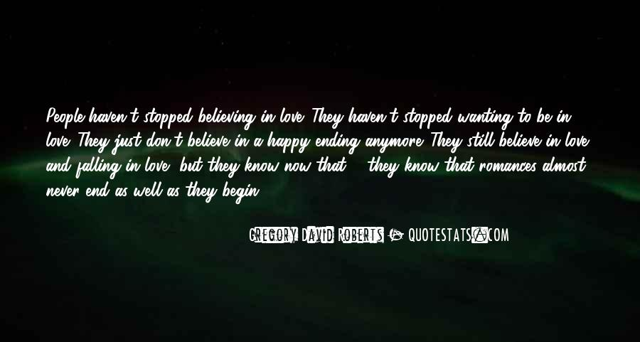 Quotes About Never Falling Out Of Love #243455