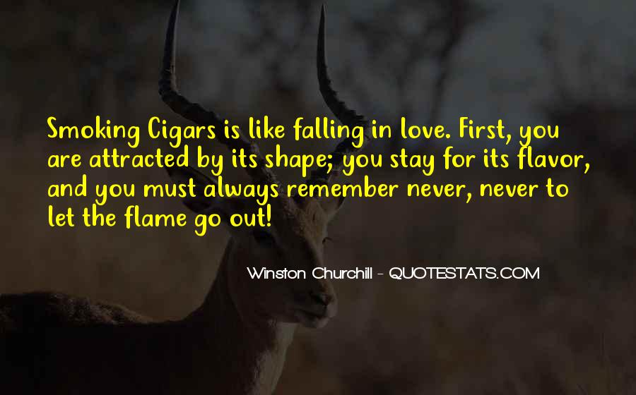 Quotes About Never Falling Out Of Love #669646