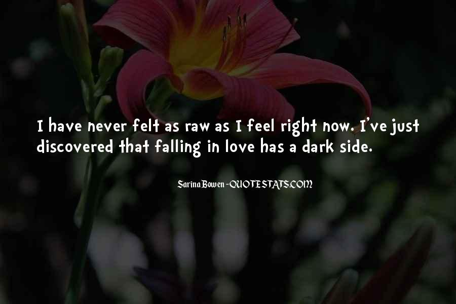 Quotes About Never Falling Out Of Love #85957