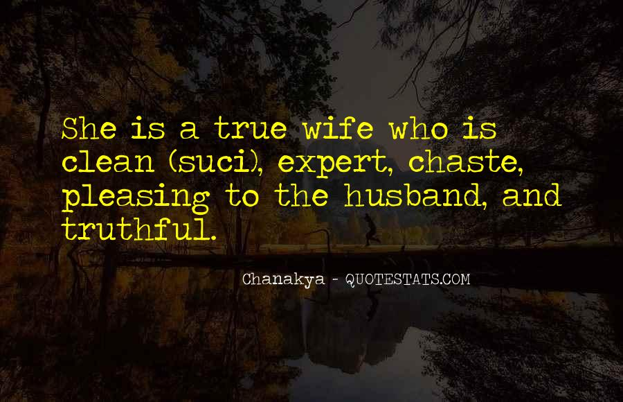 Quotes About True Husband #1436883