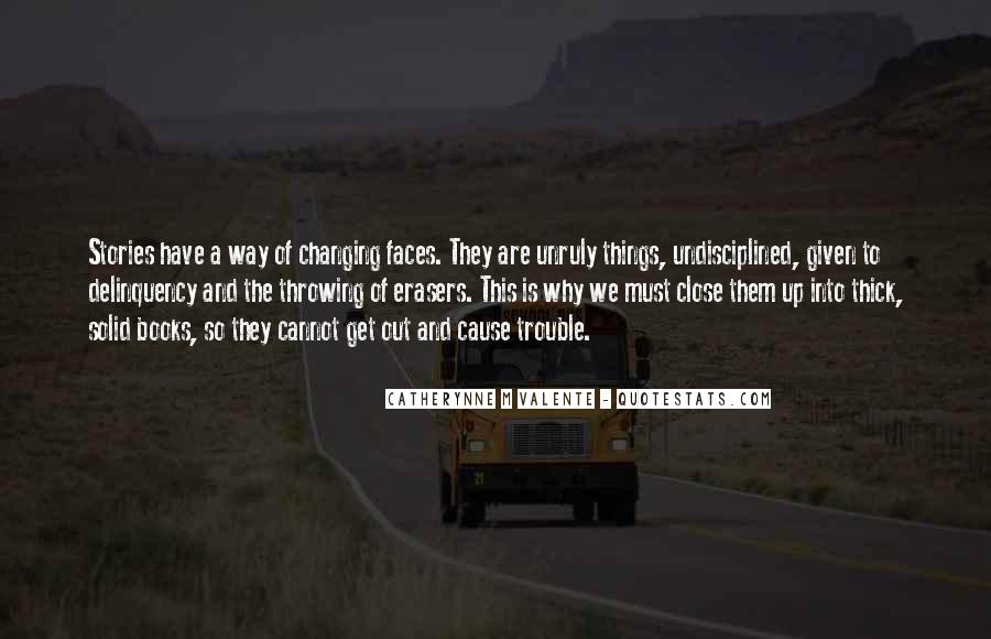Quotes About Changing Things Up #135342