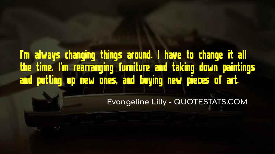 Quotes About Changing Things Up #907145