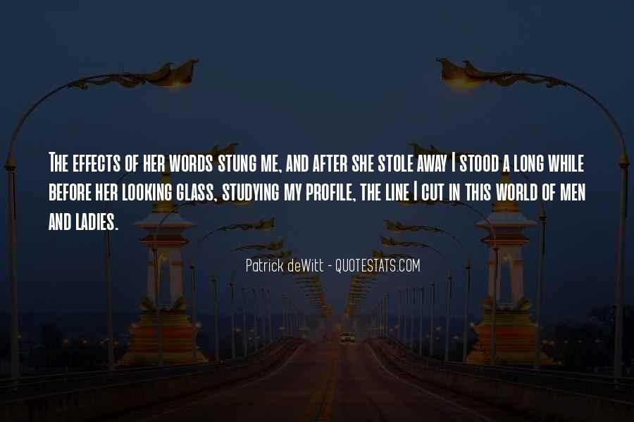 Quotes About The Looking Glass #214128
