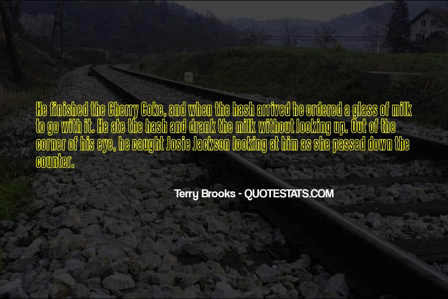 Quotes About The Looking Glass #712703