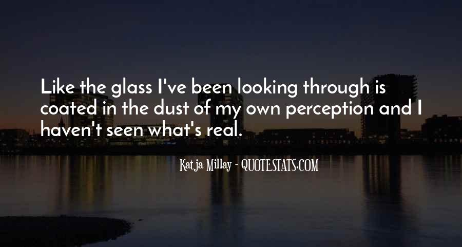 Quotes About The Looking Glass #818692