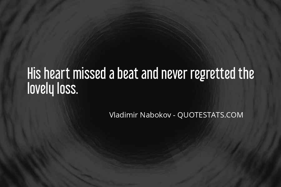 Quotes About Regret Love #184665