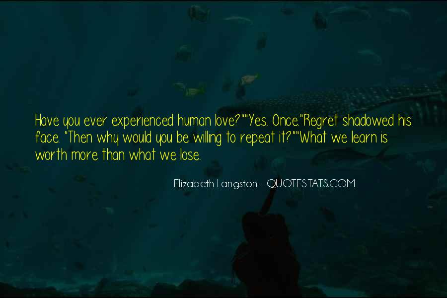 Quotes About Regret Love #200384
