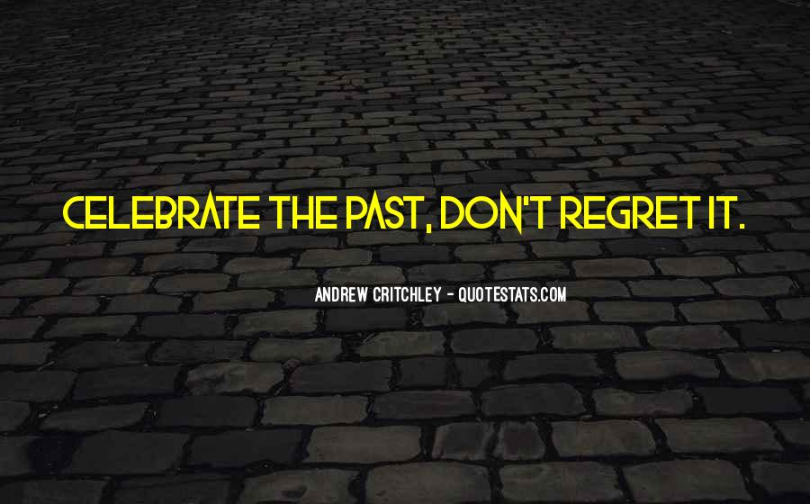 Quotes About Regret Love #209180