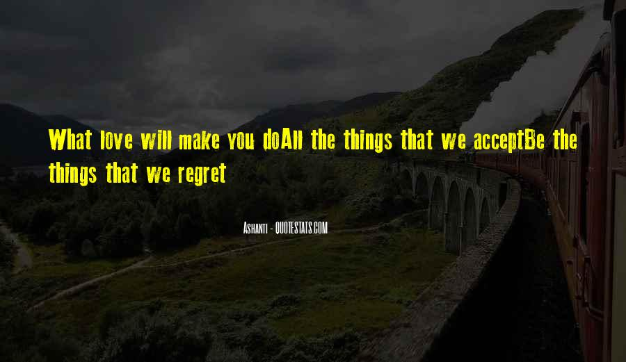 Quotes About Regret Love #229516