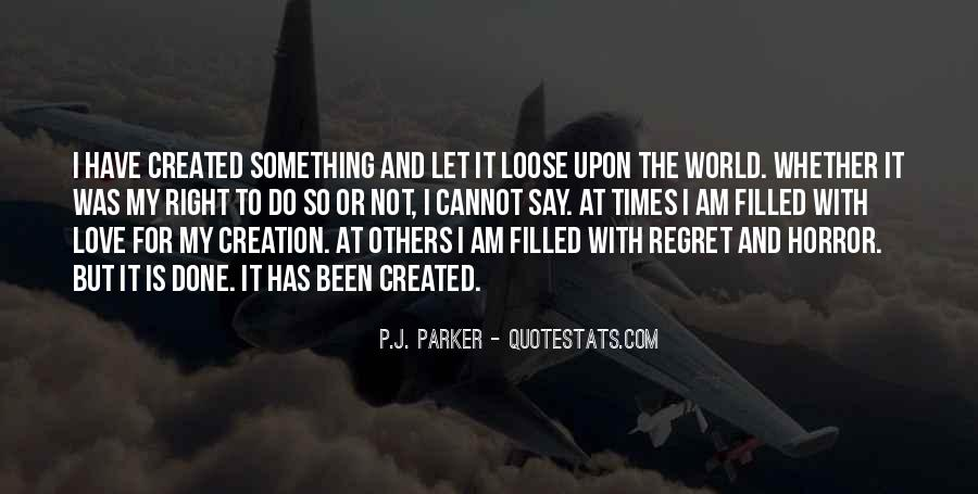 Quotes About Regret Love #325471