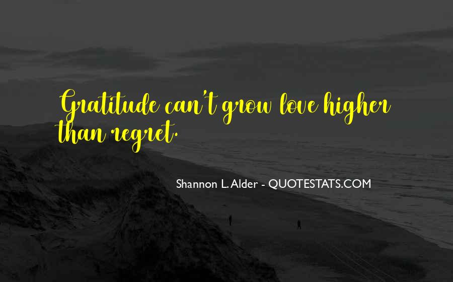 Quotes About Regret Love #434902